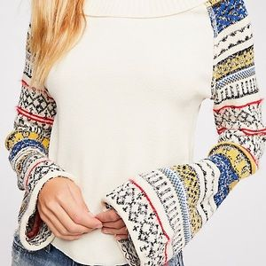 Freepeople Fairground thermal top